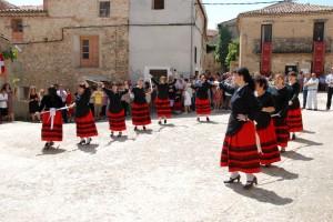 Danza de las espadas.  Iruecha (Soria)